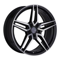Enkei Wheels Victory - Black Machined Rim - 18x8