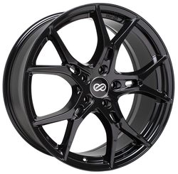 Enkei Wheels Vulcan - Gloss Black Rim - 18x8