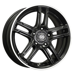 Enkei Wheels FD-05 - Black Machined - 17x7