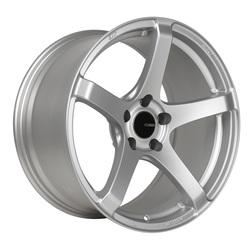 Enkei Wheels Kojin - Matte Silver Rim - 17x8