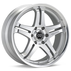 Enkei Wheels M5 - Silver Machined - 17x7.5