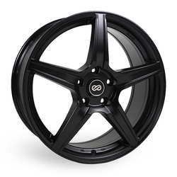 Enkei Wheels PSR5 - Matte Black Rim - 15x6.5