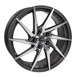 Enkei Wheels PW10 - Gunmetal Machined Rim - 16x7