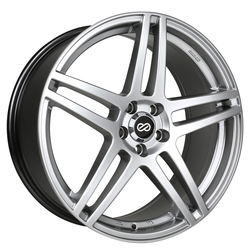 Enkei Wheels RSF5 - Hyper Silver Rim - 17x7.5