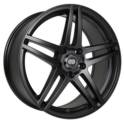 Enkei Wheels RSF5 - Matte Black Rim - 15x6.5