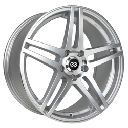 Enkei Wheels RSF5 - Silver Machined Rim - 15x6.5