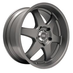 Enkei Wheels ST6 - Matte Gunmetal Rim - 17x8