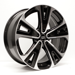 Enkei Wheels SVX - Black Machined