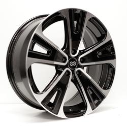 Enkei Wheels SVX - Black Machined Rim - 18x8