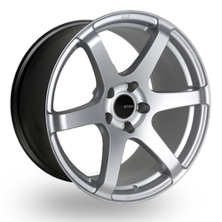 Enkei Wheels T6S - Matte Silver - 18x8.5