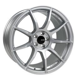 Enkei Wheels TS9 - Matte Silver Rim - 17x8