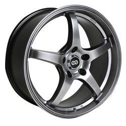 Enkei Wheels VR5 - Hyper Black Rim - 16x7