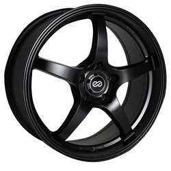 Enkei Wheels VR5 - Matte Black Rim - 15x6.5