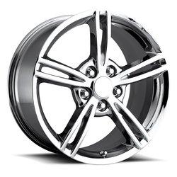 Factory Reproductions Wheels FR 12 C6 Corvette - Chrome - 19x11