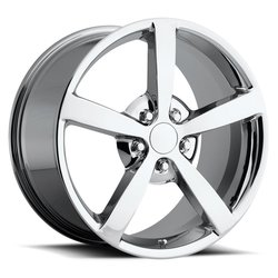 Factory Reproductions Wheels FR 13 C6 Corvette - Chrome Rim