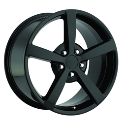 Factory Reproductions Wheels Factory Reproductions Wheels FR 13 C6 Corvette - Gloss Black - 19x10