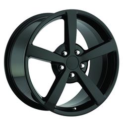 Factory Reproductions Wheels FR 13 C6 Corvette - Gloss Black