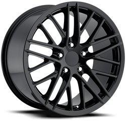 Factory Reproductions Wheels FR 15 C6 ZR1 Corvette - Gloss Black Rim