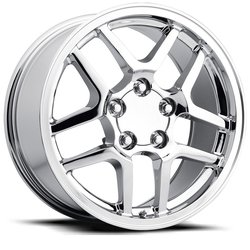 Factory Reproductions Wheels FR 16 C5 ZO6 Corvette - Chrome - 18x10.5
