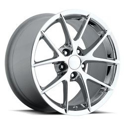 Factory Reproductions Wheels FR 18 C6 Z06 Corvette - Chrome Rim