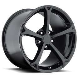 Factory Reproductions Wheels FR 19 C6 GS Corvette - Gloss Black