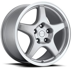 Factory Reproductions Wheels FR 21 ZR1 Vette - Silver/Machine Rim