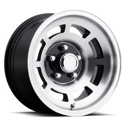 Factory Reproductions Wheels FR 23 YJ8 Corvette - Black Machine Face Rim