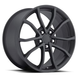 Factory Reproductions Wheels FR 25 C6 Cup Vette - Satin Black Rim