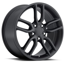 Factory Reproductions Wheels FR 26 C7 Z51 Vette - Satin Black Rim