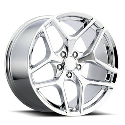 Factory Reproductions Wheels FR 27 Z28 Camaro - Chrome Rim