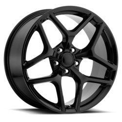 Factory Reproductions Wheels FR 27 Z28 Camaro - Gloss Black Rim
