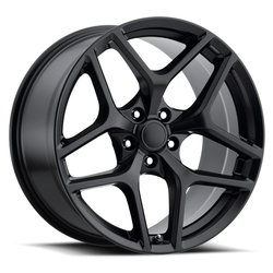 Factory Reproductions Wheels FR 27 Z28 Camaro - Satin Black - 20x11