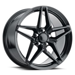 Factory Reproductions Wheels FR 29 C7 ZR1 Corvette - Carbon Black Rim - 19x12