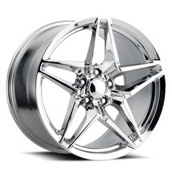 Factory Reproductions Wheels FR 29 C7 ZR1 Corvette - Chrome Rim - 19x12