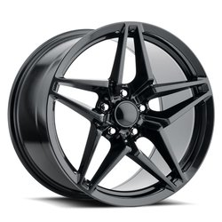 Factory Reproductions Wheels FR 29 C7 ZR1 Vette - Satin Black Rim - 19x12