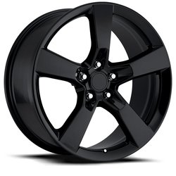 Factory Reproductions Wheels FR 30 SS Camaro - Gloss Black Rim