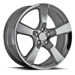 Factory Reproductions Wheels FR 30 SS Camaro - PVD Black Chrome Rim