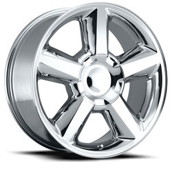 Factory Reproductions Wheels FR 31 Chevy Tahoe - Chrome Rim