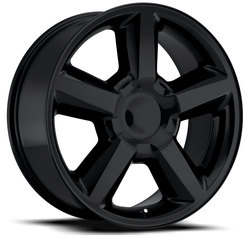 Factory Reproductions Wheels FR 31 Chevy Tahoe - Gloss Black Rim