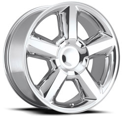 Factory Reproductions Wheels FR 31 Chevy Tahoe - Polish Rim
