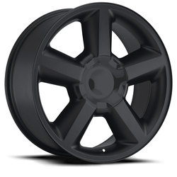 Factory Reproductions Wheels FR 31 Chevy Tahoe - Satin Black Rim