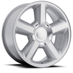 Factory Reproductions Wheels FR 31 Chevy Tahoe - Silver