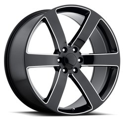 Factory Reproductions Wheels FR 32 TrailblazerSS - Black/Milled Rim