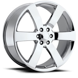 Factory Reproductions Wheels FR 32 Trailblazer SS - Chrome Rim - 24x9.5