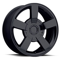 Factory Reproductions Wheels FR 33 Chevy 1500SS - Gloss Black Rim - 22x10