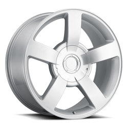 Factory Reproductions Wheels FR 33 Chevy 1500SS - Silver Rim