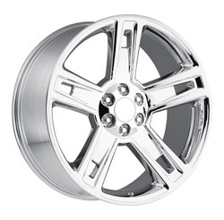 Factory Reproductions Wheels FR 34 Chevy Silverado - Chrome - 24x10