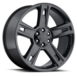 Factory Reproductions Wheels FR 34 Chevy Silverado - Gloss Black - 24x10