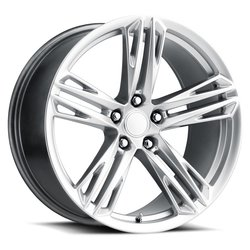 Factory Reproductions Wheels FR 35 1LE Camaro - Hyper Silver Rim