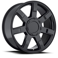 Factory Reproductions Wheels FR 36 Cadillac Escalade - Gloss Black Rim